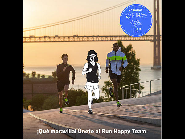 Brooks busca corredores para formar su Run Happy Team en Europa