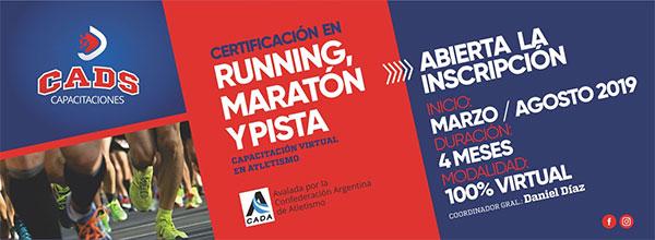 Crean una certificación oficial de 'running'