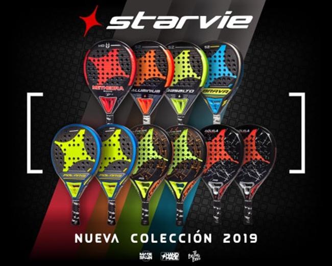 StarVie desvela su nueva colección de palas 2019
