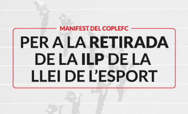 Coplefc lanza un manifiesto en contra de la ILP impulsada por UFEC