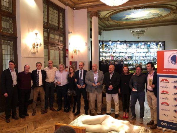 El Círculo de Gestores Deportivos de Madrid celebra su cena de Navidad