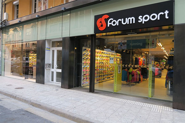 Forum Sport dona material deportivo a Koopera por valor de 22.219 euros