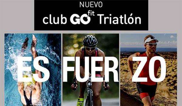 La cadena de gimnasios GoFit lanzará un club de Triatlón a nivel nacional