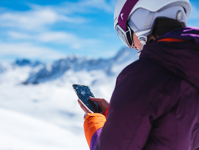Grandvalira actualiza su app para mejorar la experiencia del esquiador