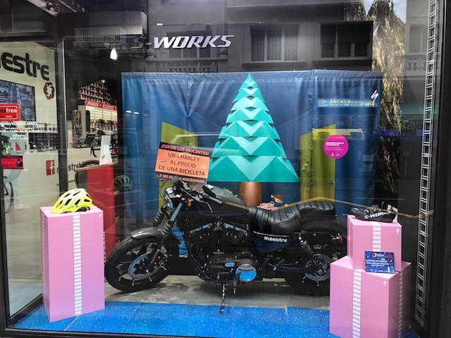Maestre Bikes vende una Harley Davidson al precio de una bicicleta