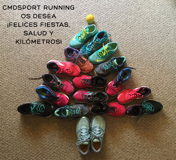 ¡Cmdsport Running os desea una Feliz Navidad 2018!