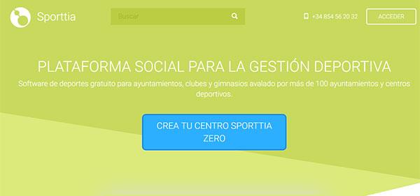 Sporttia agiliza su software de gestión y lanza Zero