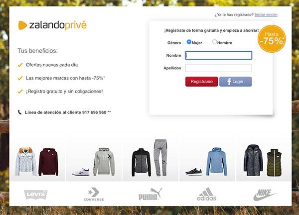 Zalando trae a España su outlet online