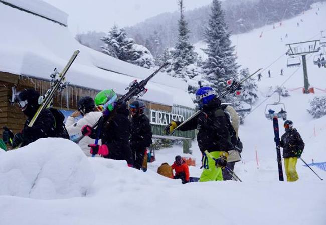 Las nevadas disparan la apertura de pistas de esquí