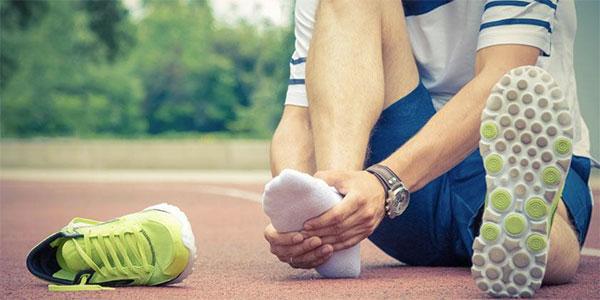 Así te llevarán tus pies a la línea de meta del maratón