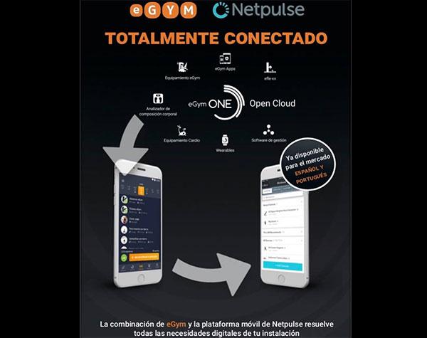 eGym lanza oficialmente en el mercado ibérico la app Netpulse