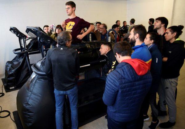 El CAR de Madrid incorpora dos máquinas Alter G