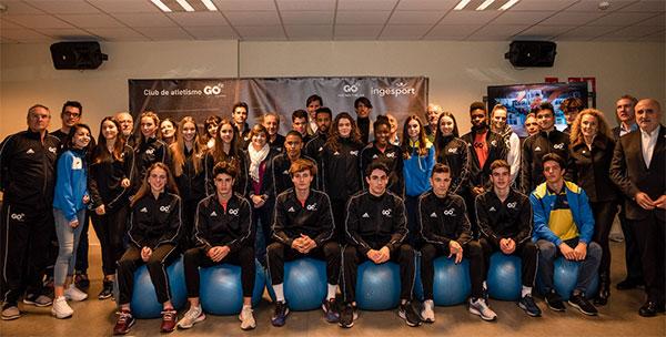 Nace GO fit Athletics, capitaneado por Fermín Chacho y Antonio Reina