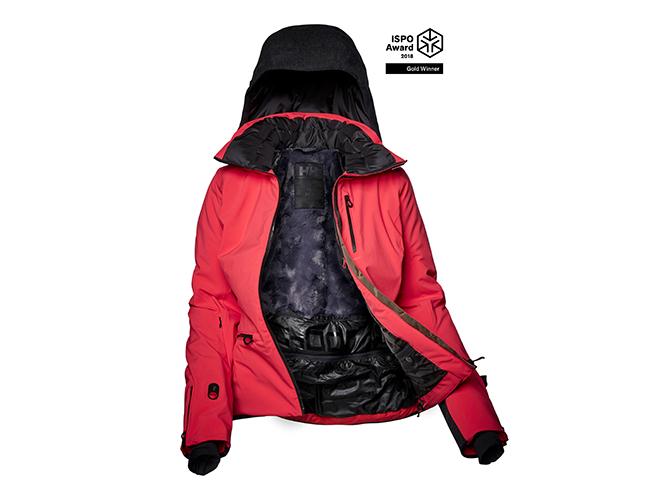 Helly Hansen apela al confort y calidez del esquiador con su W Paradise Heat Jacket