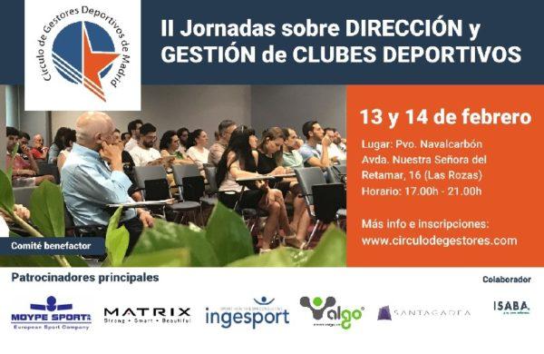 II Jornadas sobre Dirección y Gestión de Clubes Deportivos