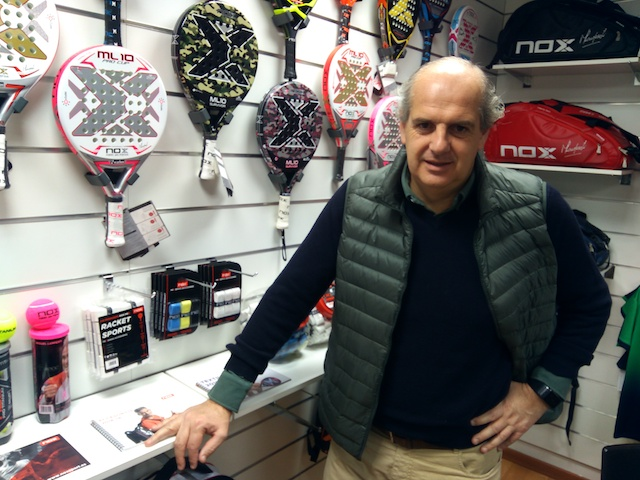 Nox percibe una aceleración en la criba de marcas del mercado español de pádel