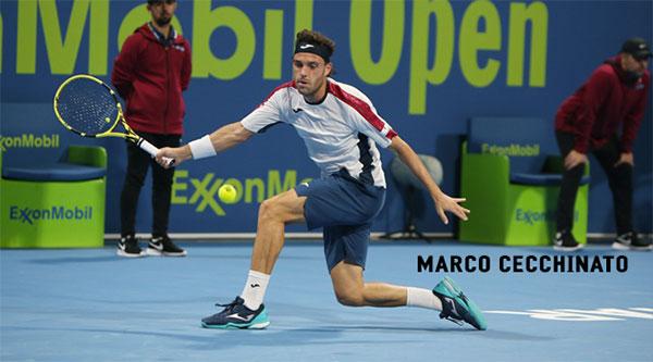 Joma ficha al tenista Marco Cecchinato