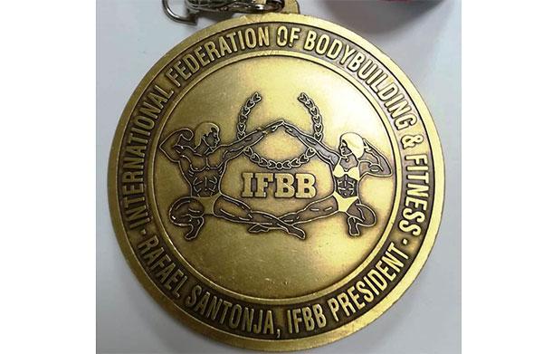 Telju Fitness vuelve a recibir la medalla de oro de la IFBB
