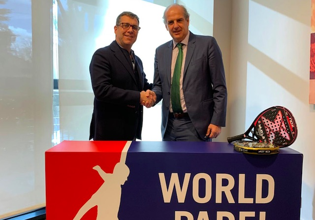 Nox se convierte en pala oficial del World Padel Tour