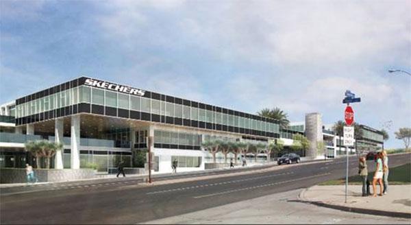 Skechers amplía su sede central con miras a reforzar su internacionalización