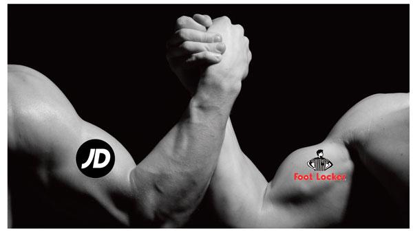 Foot Locker y JD Sports pugnan por la hegemonía del canal sneaker