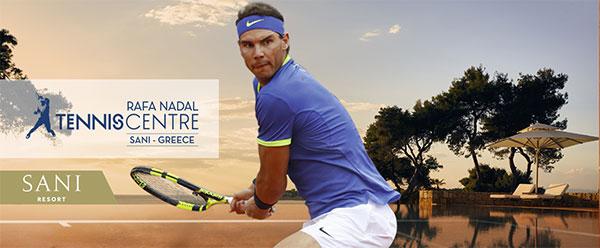 Grecia albergará el segundo Rafa Nadal Tennis Centre
