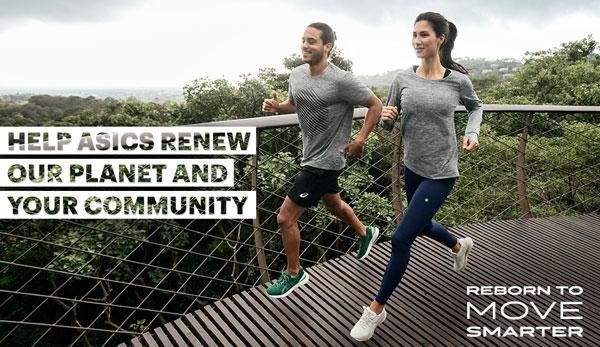 Asics inicia en Barcelona una campaña de colecta y reciclaje de material deportivo