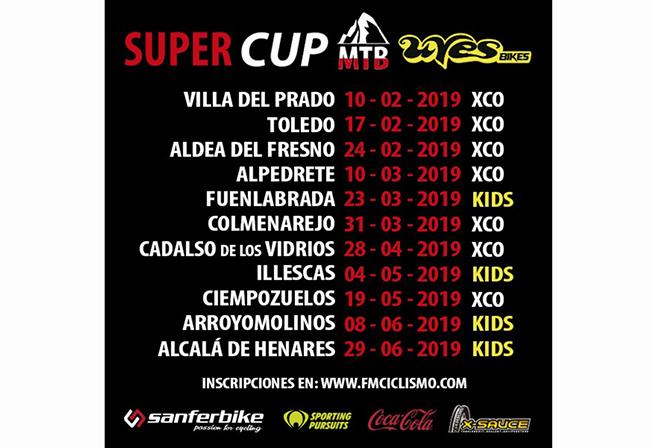 Sanferbike patrocina la SuperCup XCO de la Comunidad de Madrid