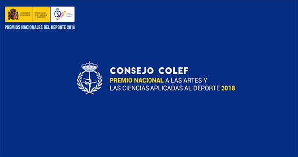 Consejo Colef, galardonado en los Premios Nacionales del Deporte 2018