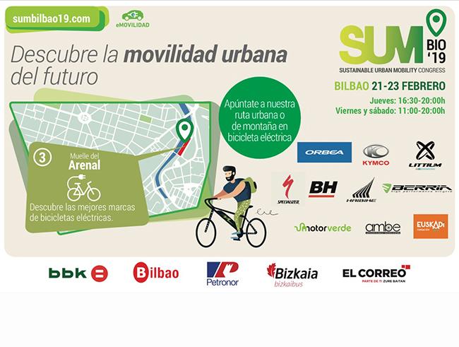 Los E-Bike Days vuelven a Bilbao