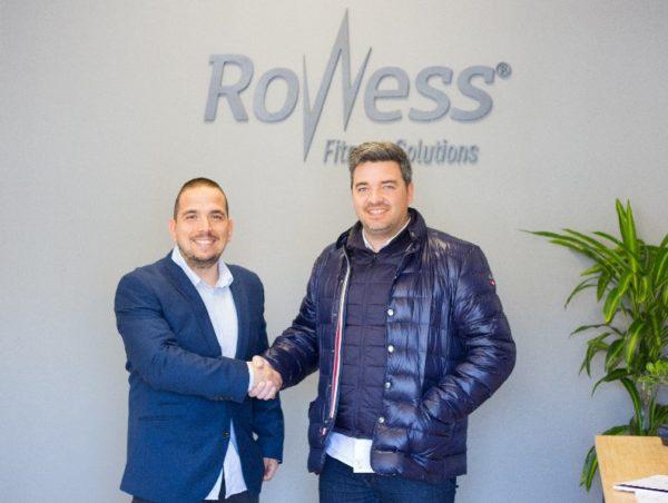 Rowess Fitness Solutions y Hecsport firman un acuerdo de distribución
