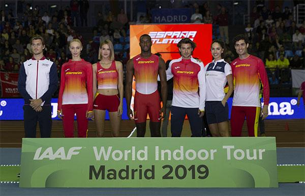 Joma presenta la nueva equipación de la selección española de atletismo