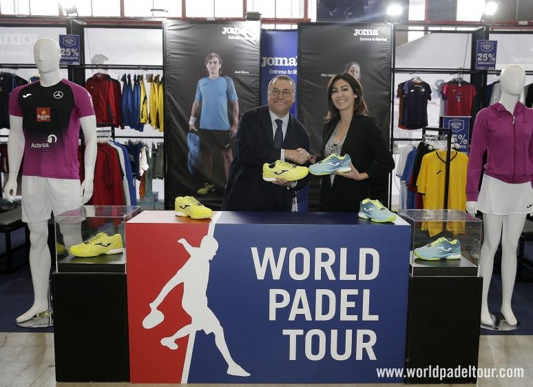 Joma será la marca de calzado oficial del World Padel Tour