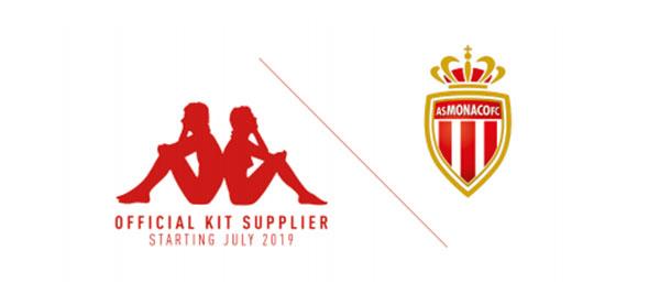 Kappa firma con el AS Mónaco por seis temporadas