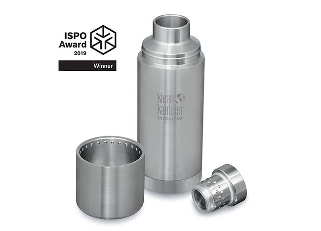Klean Kanteen recibe un Ispo Award por su nueva línea de botellas
