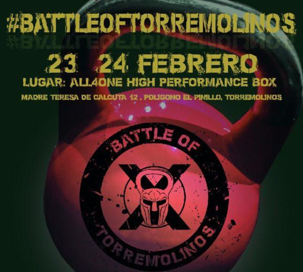 Llega el campeonato de CrossFit Battle of Torremolinos