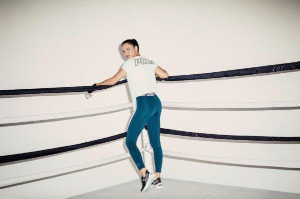 Adriana Lima, imagen de las zapatillas para entrenamientos HIIT de Puma