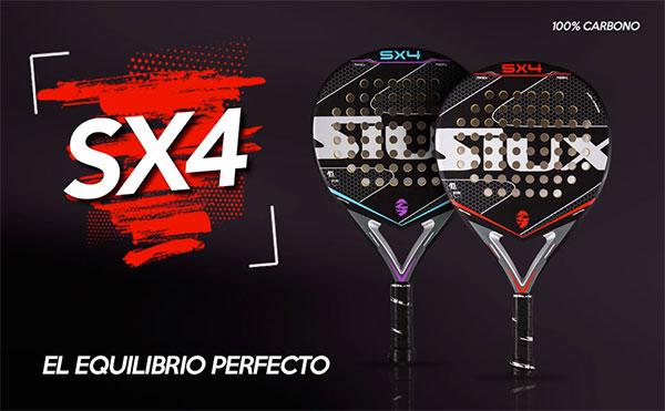 Siux añade más calidad a su serie de palas SX