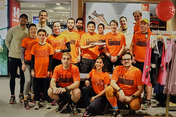 Under Armour y El Corte Inglés Run Academy celebran un clinic en Barcelona