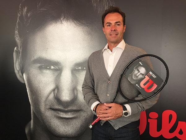 Wilson percibe una pérdida de peso del tenis en las tiendas multideporte