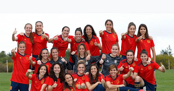 La Selección Española Femenina de Fútbol ya tiene nueva camiseta Adidas
