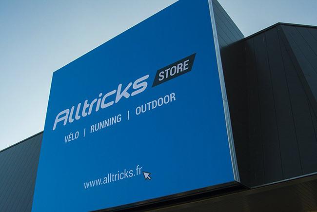Roban bicicletas por valor de 100.000 euros en la tienda física de Alltricks