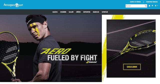 Atmósfera Sport estrena su tienda online para posicionarse ante el cliente final