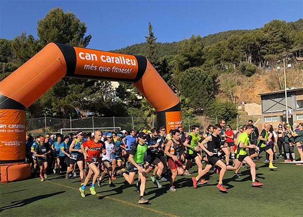 El Cros de Can Caralleu se consolida y reúne a 600 corredores