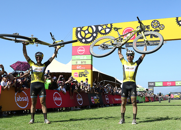 El Scott-Sram Team se corona en la Cape Epic
