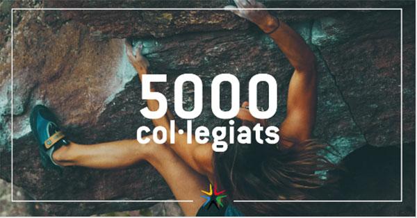 El colegio catalán de profesionales de la actividad física alcanza los 5.000 colegiados