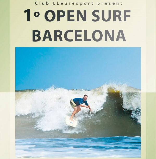Comienza el Open Surf Barcelona by Club Lleuresport