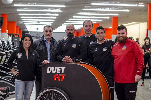 Duet Fit cede sus instalaciones a la UE Sant Andreu