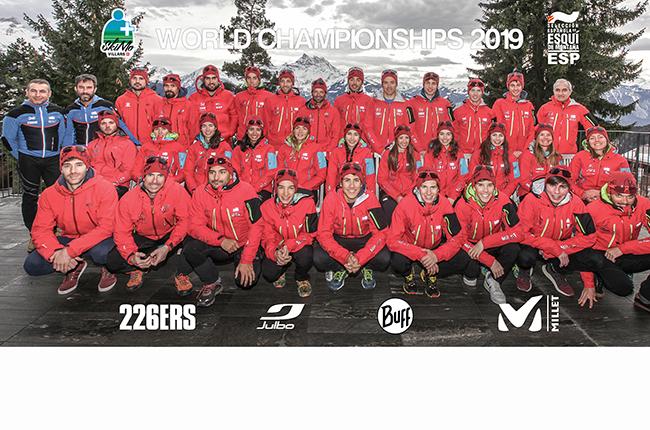 España roza el podio en el Campeonato del Mundo de Esquí de Montaña