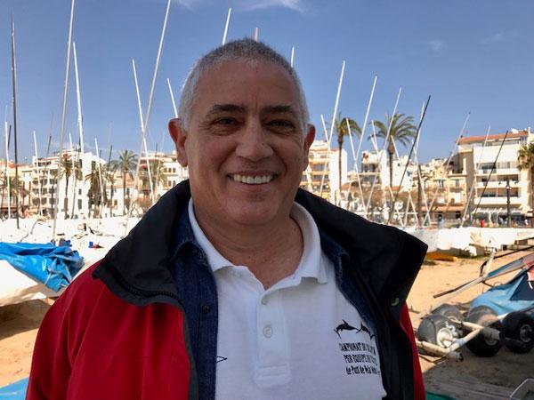 El Club Nàutic Sitges vuelve a hacerse a la mar parcialmente
